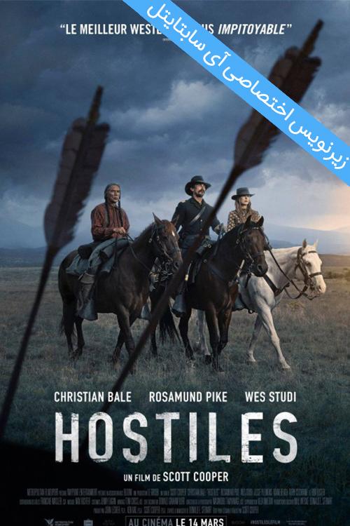 دانلود زیرنویس فارسی فیلم Hostiles