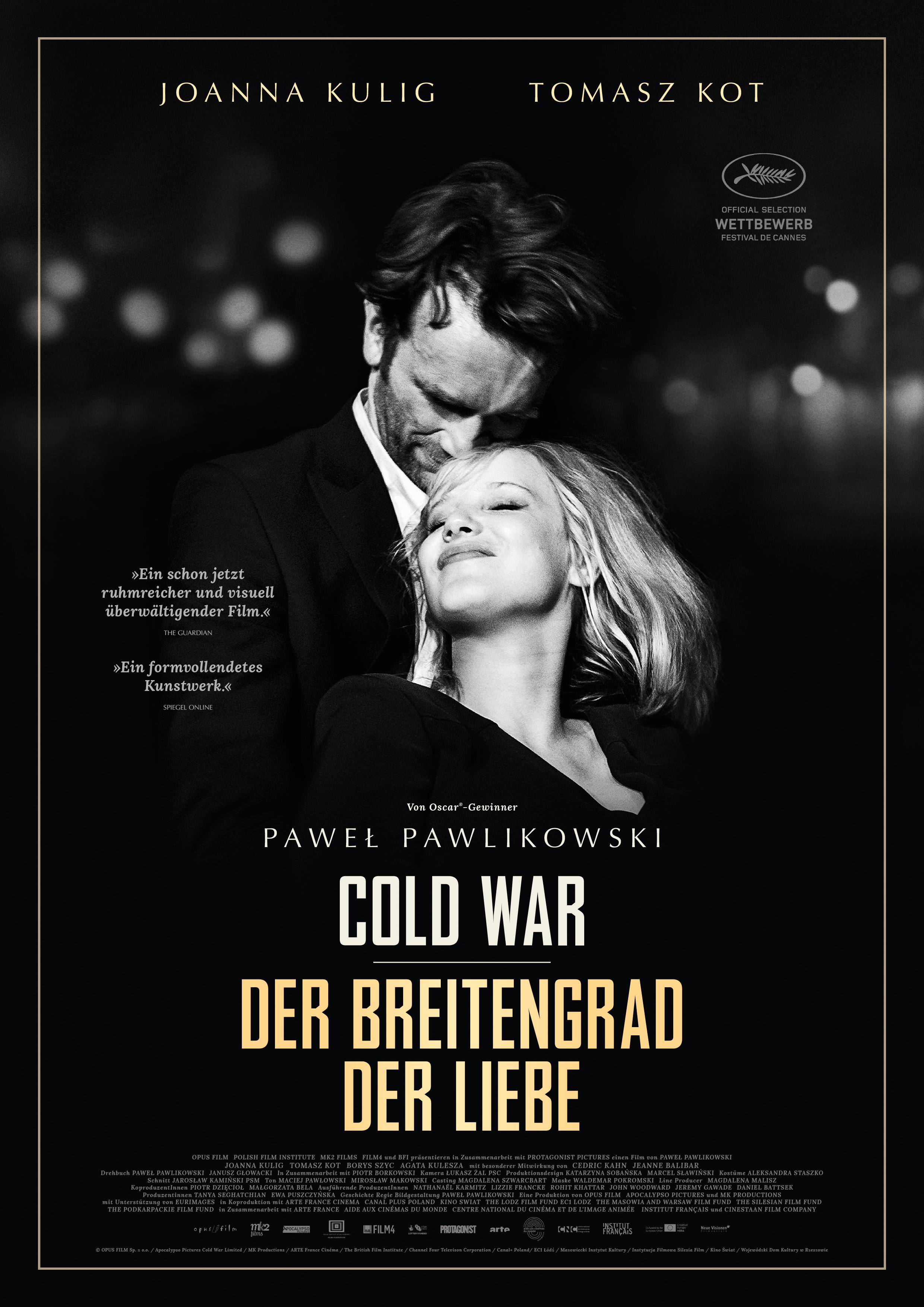 دانلود زیرنویس فارسی فیلم Cold War